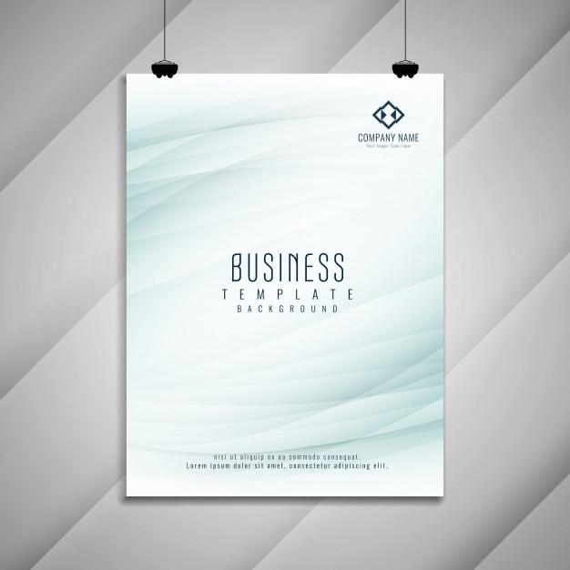 abstract business brochure template design 1055 4560 - دانلود تراکت خلاقانه بصورت رایگان