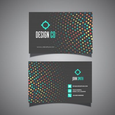 business card design - دانلود کارت ویزیت مشکی بصورت رایگان
