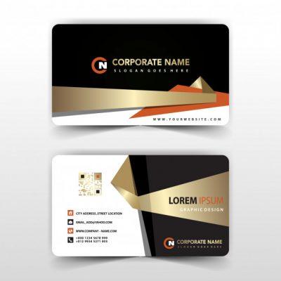 elegant visit card illustration 1409 461 - دانلود  کارت ویزیت کسب و کار بصورت فایل لایه باز