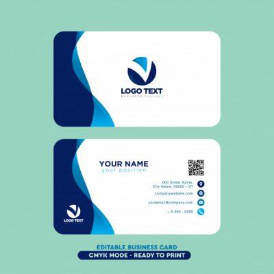 modern professional business card 1043 560 - دانلود وکتور کارت ویزیت کسب و کار