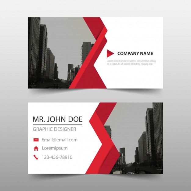 دانلود رایگان کارت ویزیت تجاری با طراحی انتزاعی