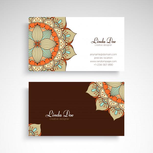 دانلود رایگان کارت ویزیت تجاری با طراحی کلاسیک
