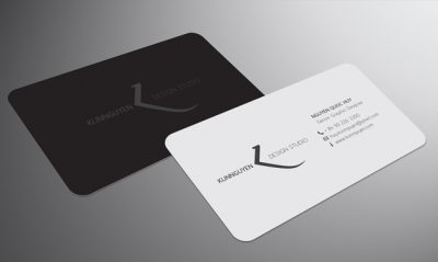 KUNNGUYEN DESIGN business card - طراحی کارت ویزیت : 7 نکته که باید در نظر داشته باشید
