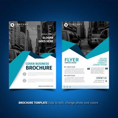 flyer template design - دانلود تراکت کسب و کار تجاری همراه با عکس