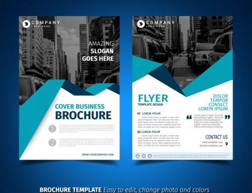 دانلود تراکت کسب و کار تجاری همراه با عکس