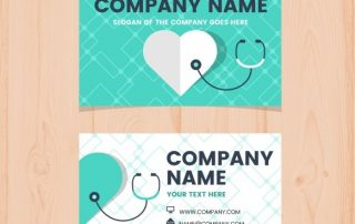 modern business card with medical concept 23 2147938735 320x202 - دانلود کارت ویزیت برای پزشکان