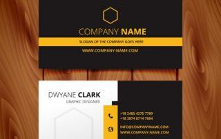 bla8 320x202 - دانلود کارت ویزیت سیاه و سفید تیره برای کسب و کار مدرن